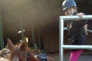 Disabled rider Keeley