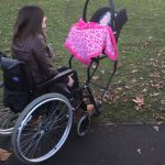 MS wheelchair baby