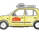 Drawing of car