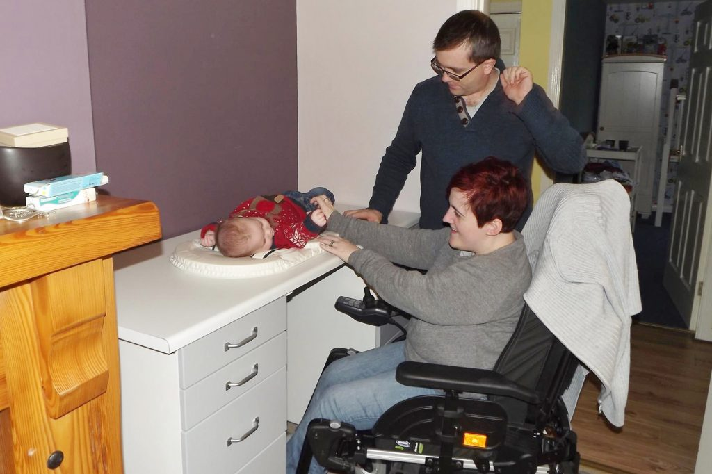 change table cerebral palsy