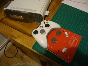 Modified Xbox controller